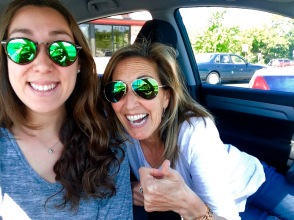 girls in car to nashville