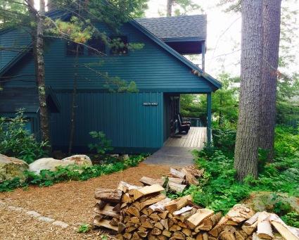 Rustic, cozy cabins